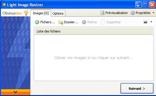 Redimensionner une image avec Light Image Resize